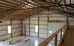warehouse pole building