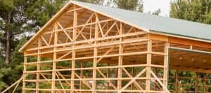 Stick Frame Barn Building