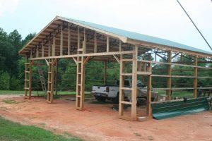 40 x 40 Pole Barn